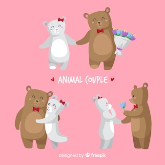 Valentine bear couple pack