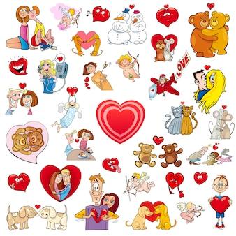 Valentine big cartoon collection
