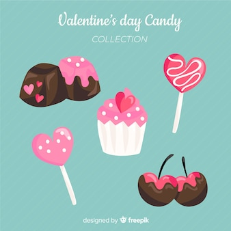 Valentine candy pack