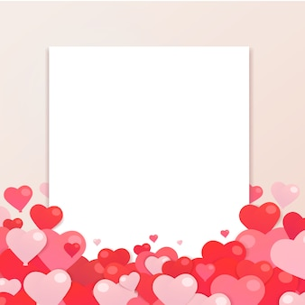 Valentine day background for greeting card