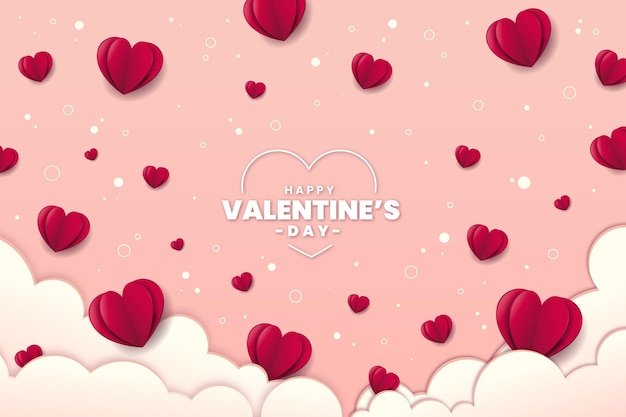 발렌타인 데이 배경