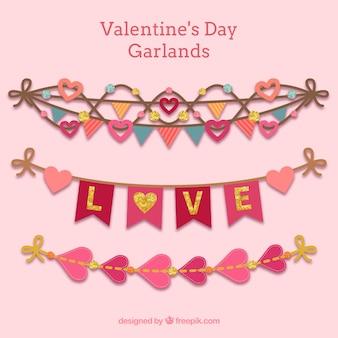 Valentine ghirlande giorno pacchetto