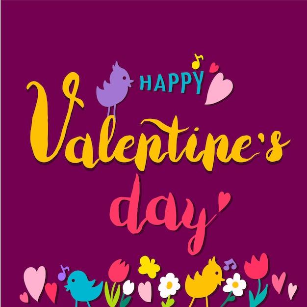 Valentine day illustration