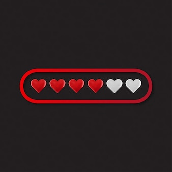 Valentine Day Love Heart Loading