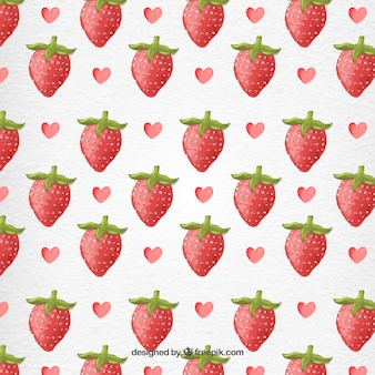 strawberry pattern vectors photos and psd files free download. Black Bedroom Furniture Sets. Home Design Ideas