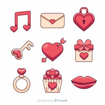 Valentine elements collection