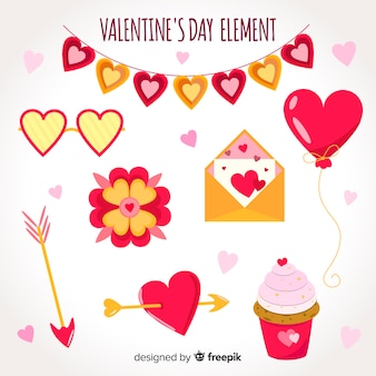 Valentine elements collection