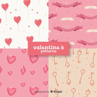 Valentine elements pattern collection