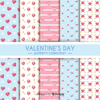 Valentine flat pattern collection