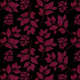 Valentine floral pattern background