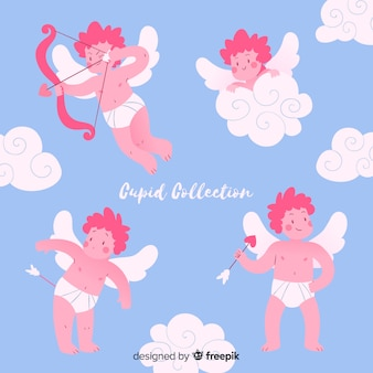 Valentine flying cupid collection