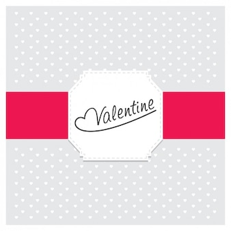 Valentine little hearts background