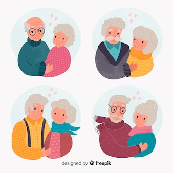 Valentine old couple pack