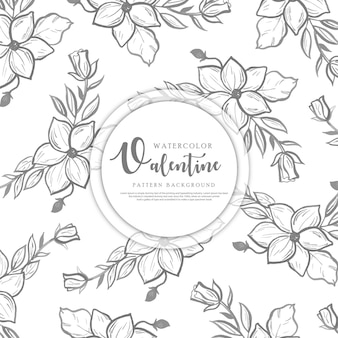 Valentine pattern background