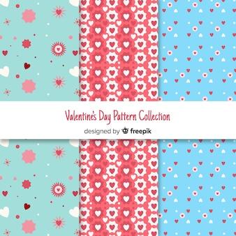 Valentine pattern collection