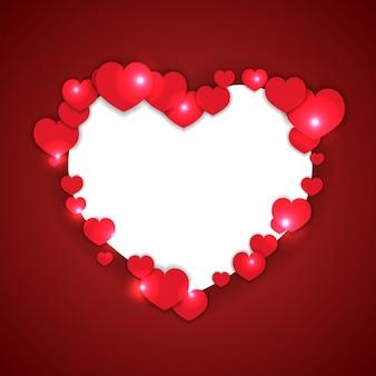 발렌타인 데이 배경 디자인