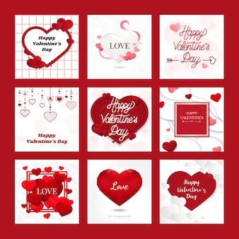 Valentine's day 14th of february vector