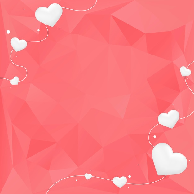 Valentine's day background illustration
