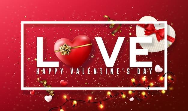 Valentine's day background, love