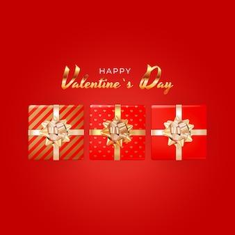 バレンタインデーの背景。広告、ウェブ、ソーシャルメディア、ファッション広告のテンプレート。