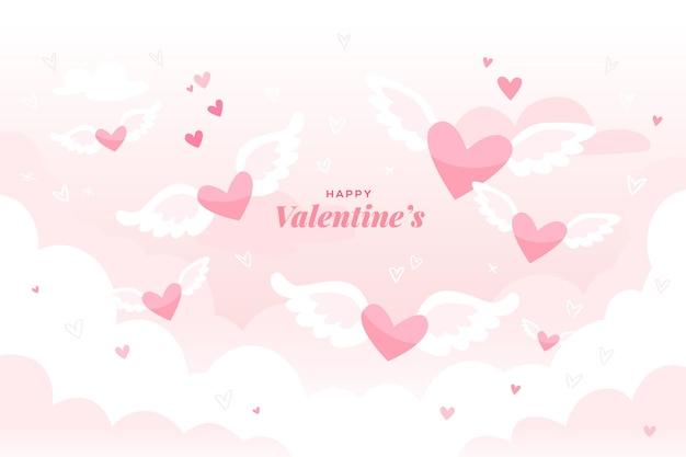 마음으로 발렌타인 배경