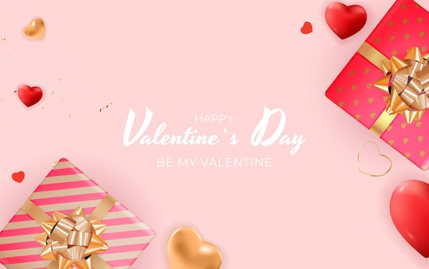 Valentine's day background .