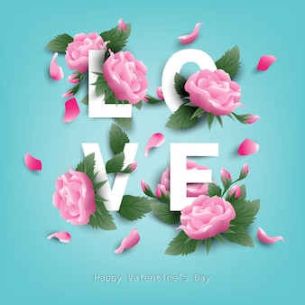Valentine's day background.