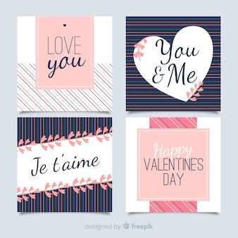Valentine's day card collection