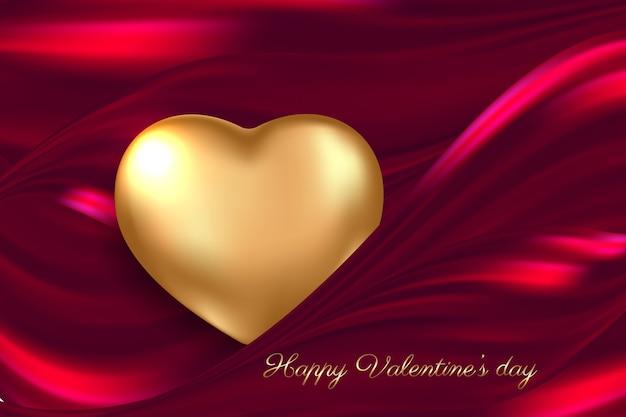 발렌타인 카드 개념입니다. 낭만적 인 배경.