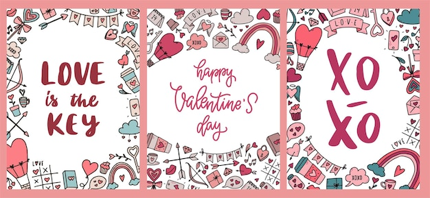 Valentine's day cards, posters and prints
