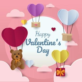 Valentine€'™s day concept