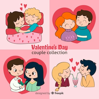 Valentine's day couple pack