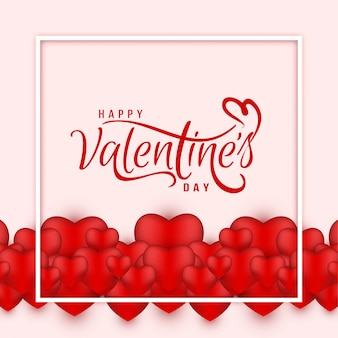 Valentine's day decorative love background