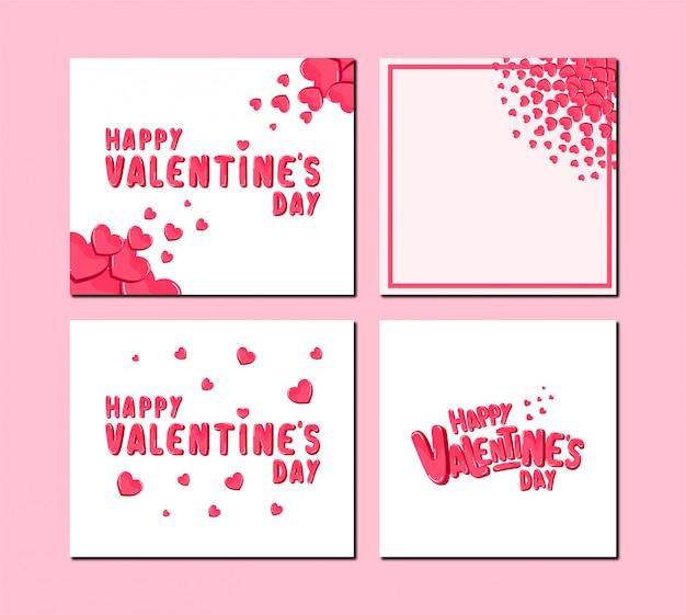 Valentine's day design concept