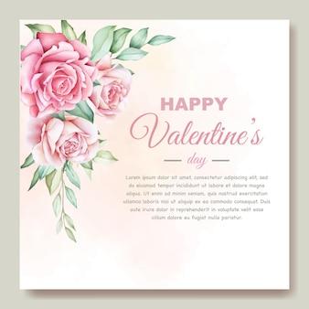Biglietto di auguri di san valentino Vettore gratuito