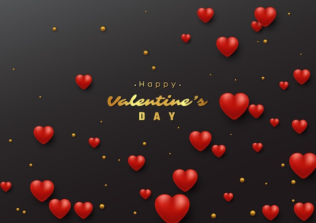 Valentine's day holiday background