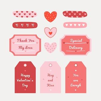 Иллюстрация дня святого валентина с рисованной текстурой сердца для ткани, упаковки, текстиля