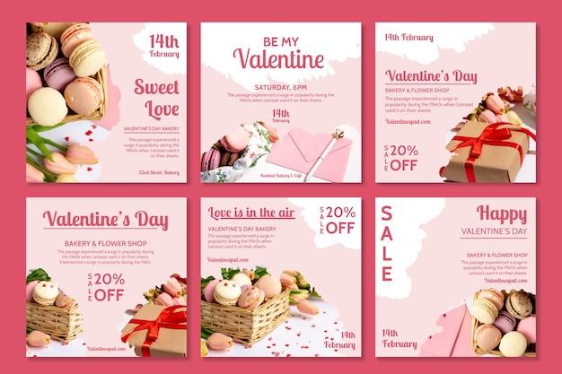 Valentine's day instagram posts