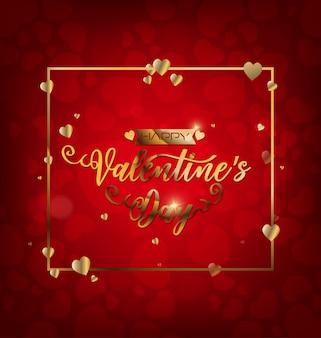 Valentine's day logotype badge/icon. valentine's day poster/card/invitation/banner.
