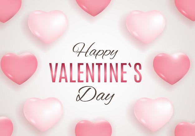 バレンタインデーの愛と感情の販売デザイン。
