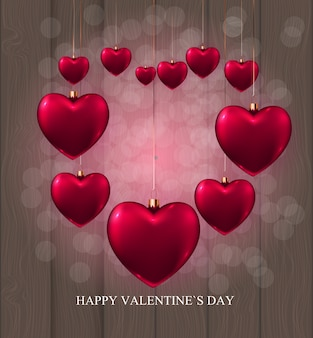 Valentine's day love and feelings sale background design. ¡