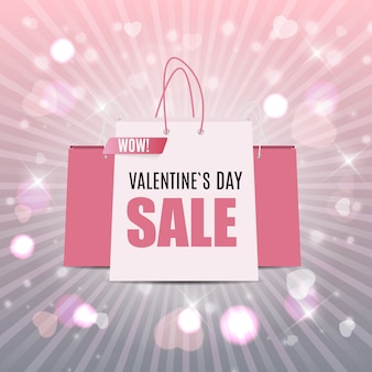 Valentine's day love and feelings sale  .  illustration