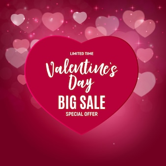 Valentine's day love and feelings sale  .