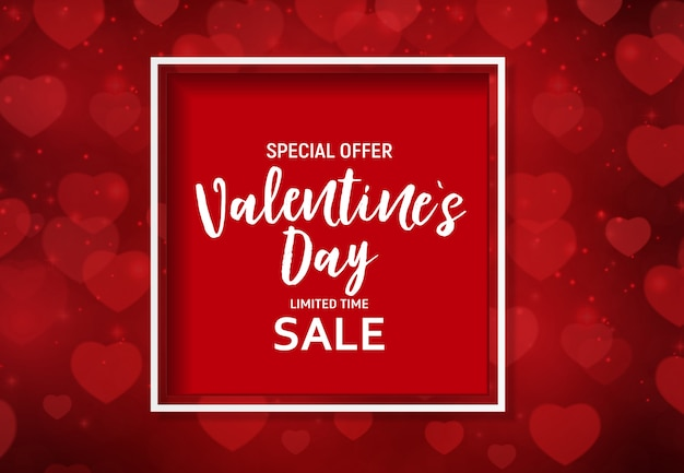 Valentine's day love and feelings sale