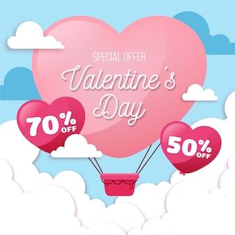 Mega evento di vendita di san valentino
