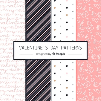 Valentine's day pattern collectio
