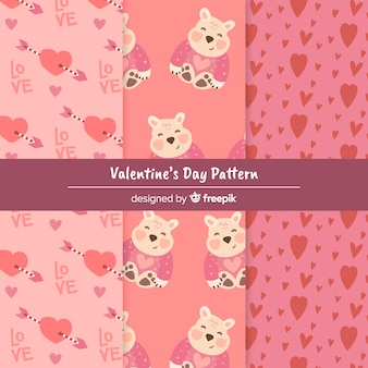 발렌타인 패턴 컬렉션