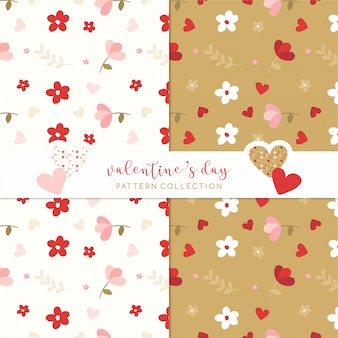 Valentine's day pattern love