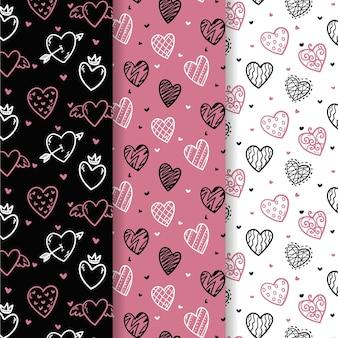 Valentine's day pattern pack