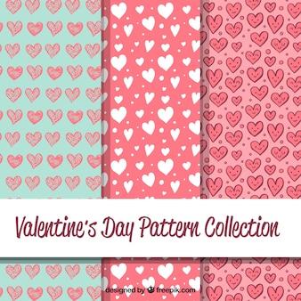 발렌타인 데이 패턴